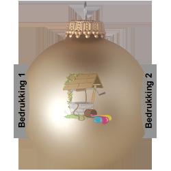 kerstballen aan 2 kanten bedrukken